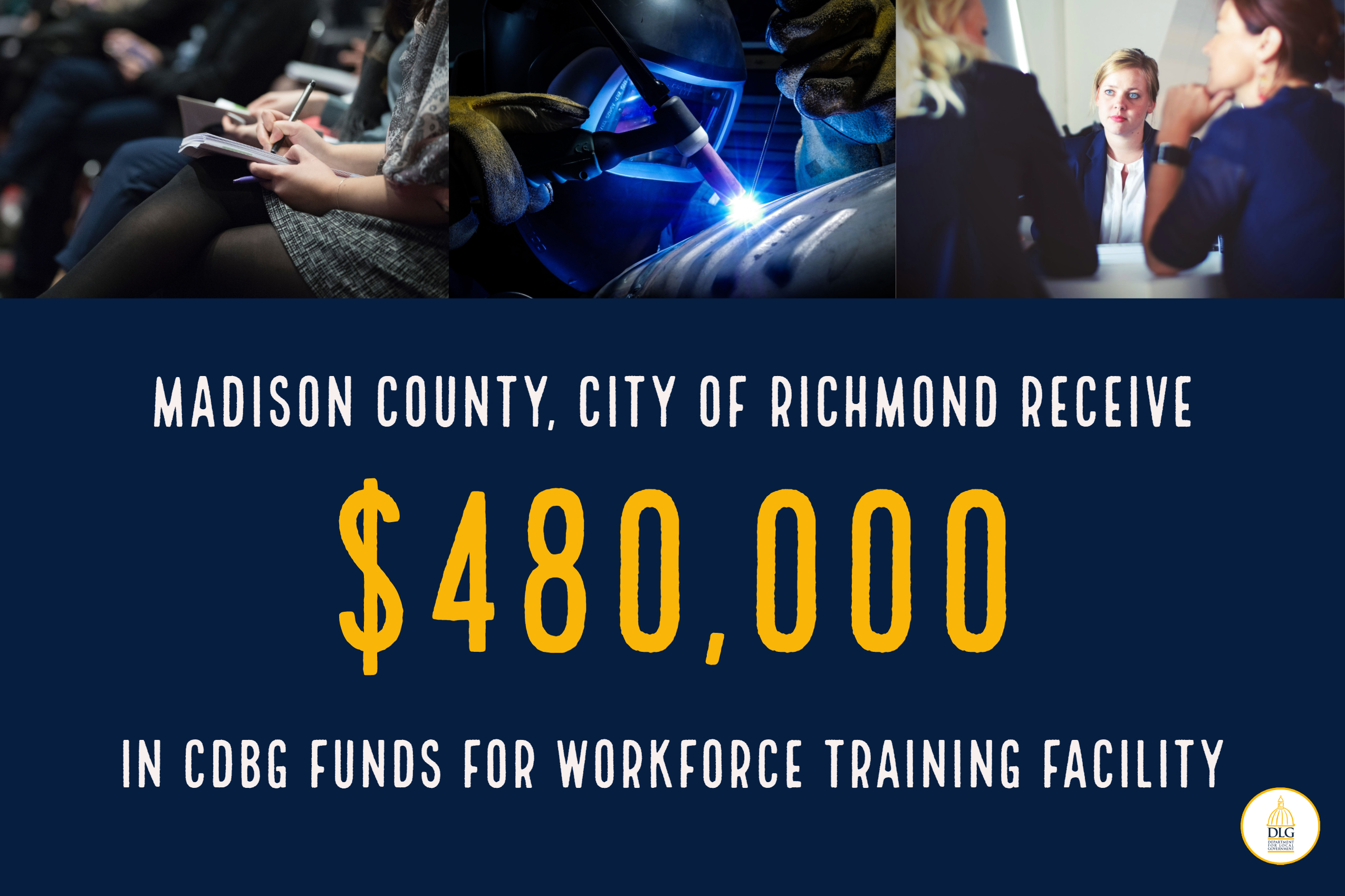 Madison County, City of Richmond Receive $480,000 Community Development Block Grant