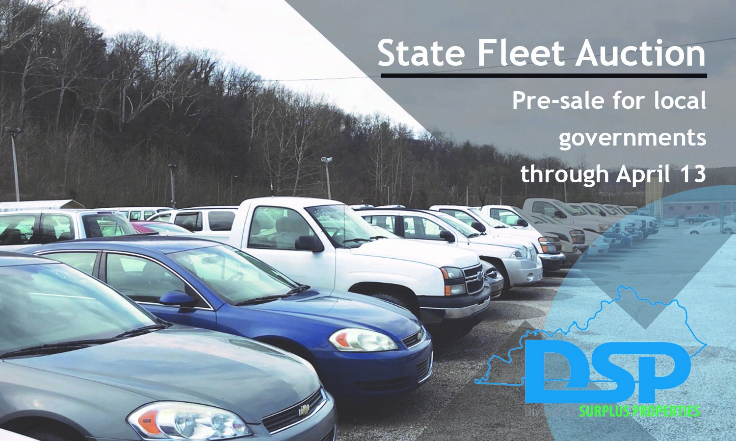 Local Governments Can Take Advantage of State Fleet Auction Before General Public