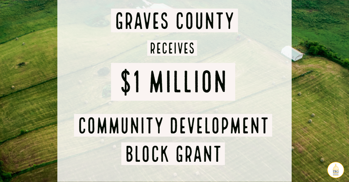 Graves County Receives $1M Community Development Block Grant