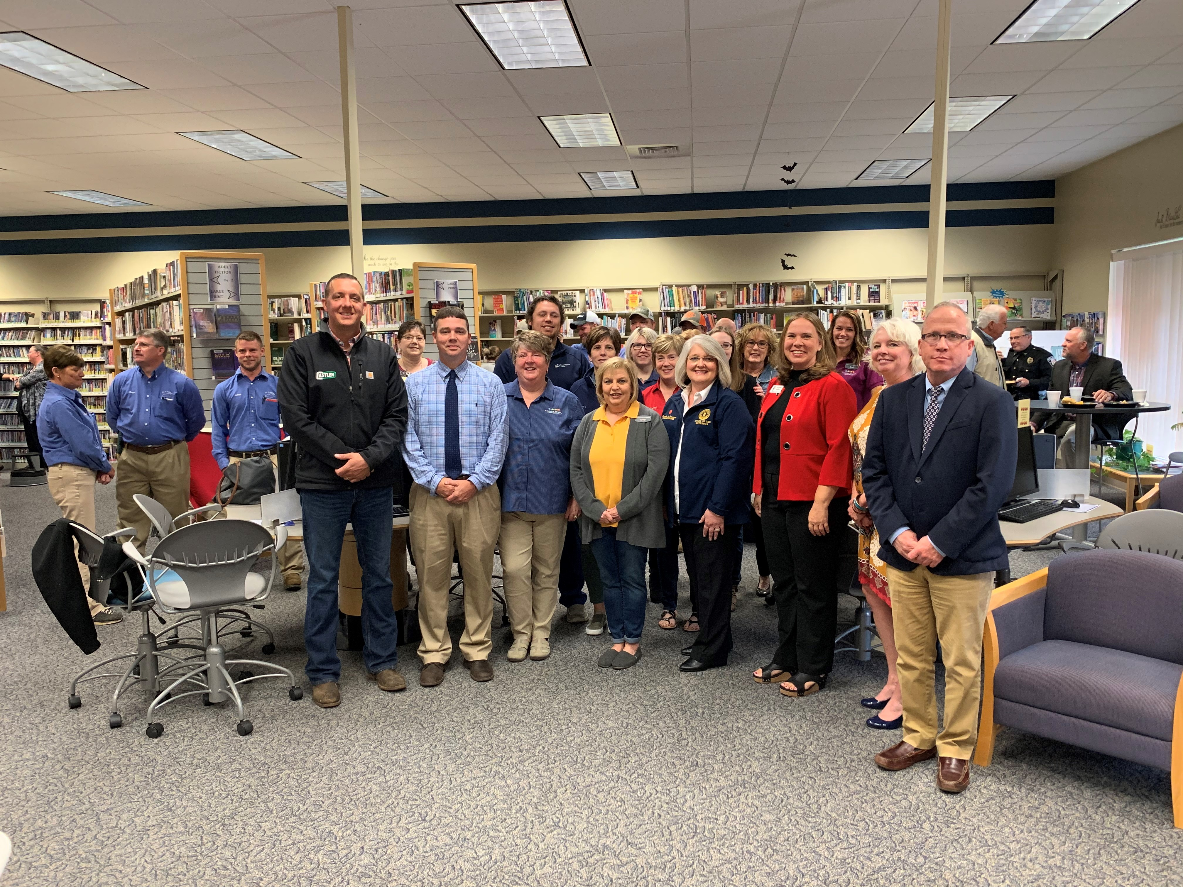City of Lewisport Receives $500,000 CDBG Grant for Library Construction Project