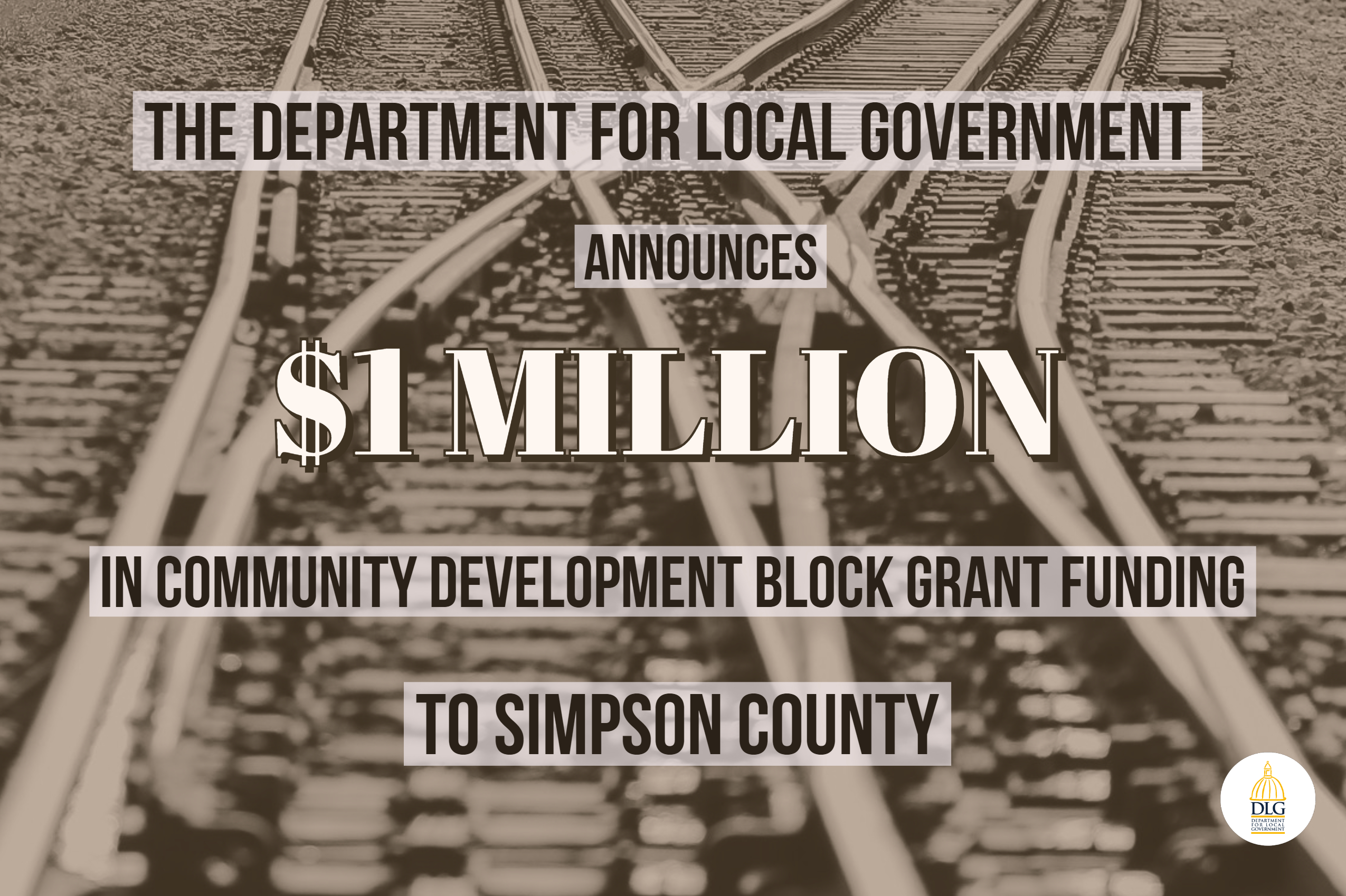 Simpson County Receives $1M Community Development Block Grant
