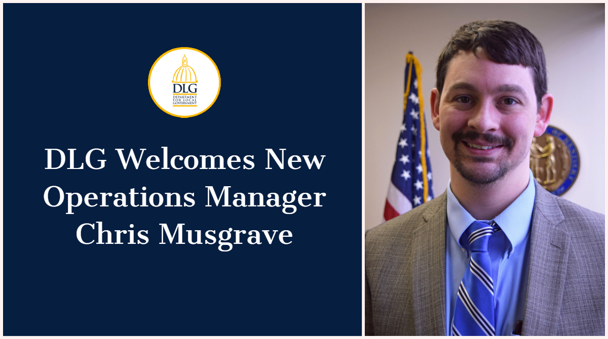 Department for Local Government Hires Operations Manager