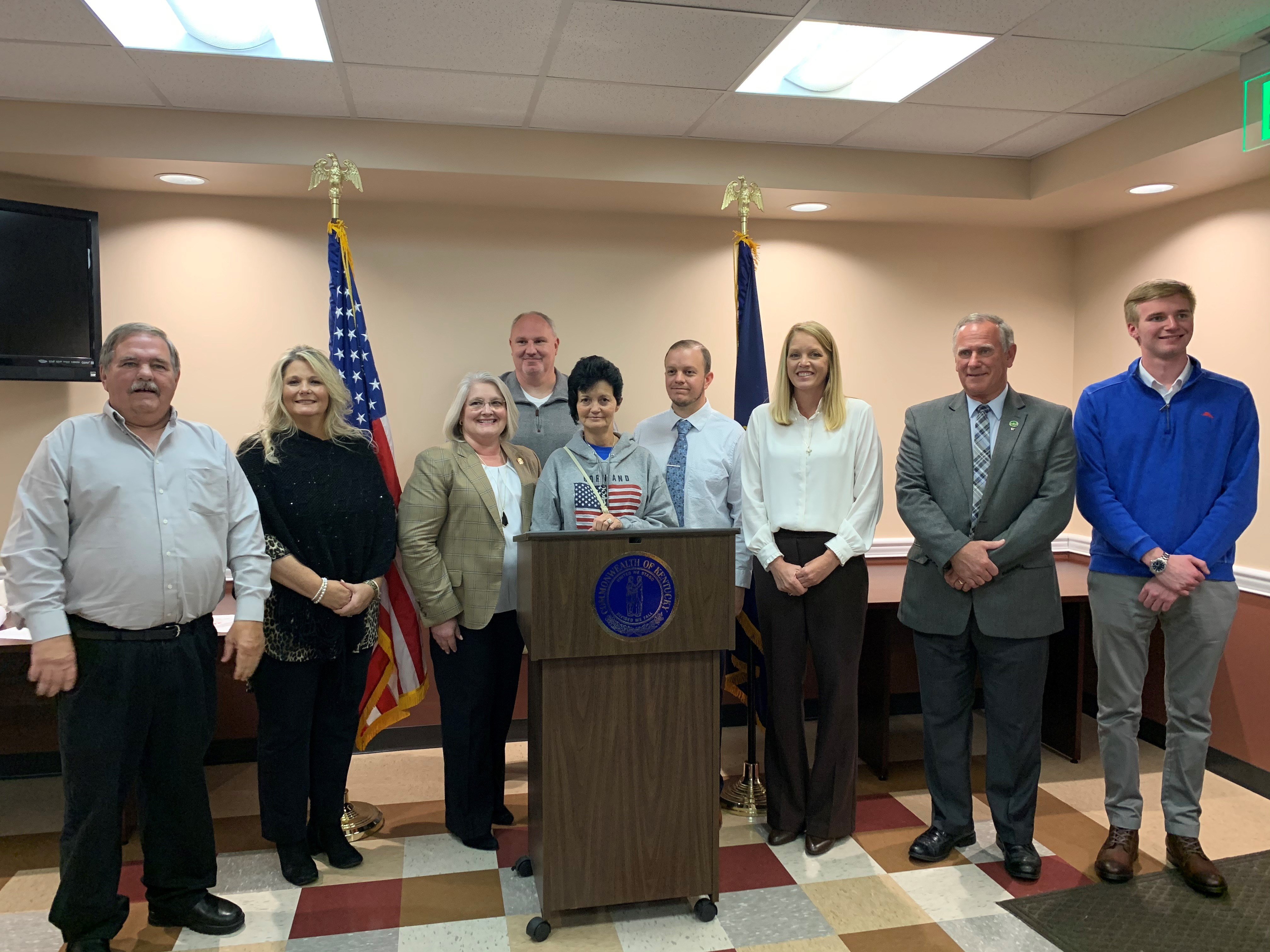 City of Stanton in Powell County Receives $1,312,500 Grant from Appalachian Regional Commission to Complete Wastewater Plant Repair Project