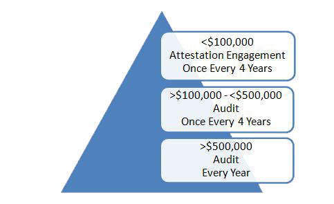 Special Purpose Governmental Entity Audit and Attestation Engagement Graph