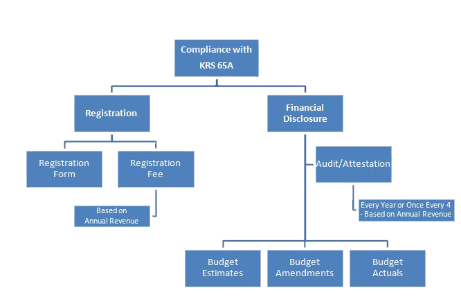 Special Purpose Governmental Entity Process Graph