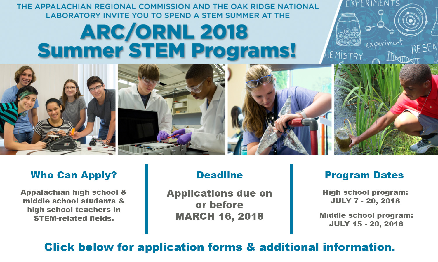 ARC Summer STEM Programs