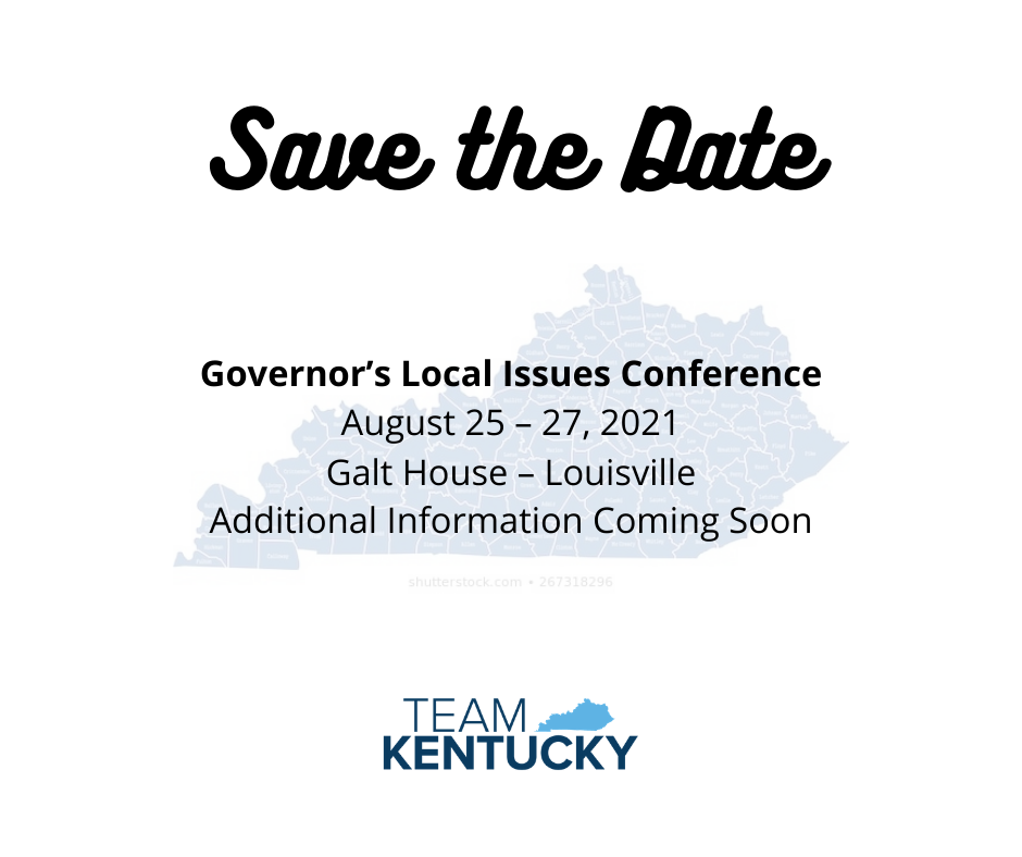 Save the Date: Governor's Local Issues Conference