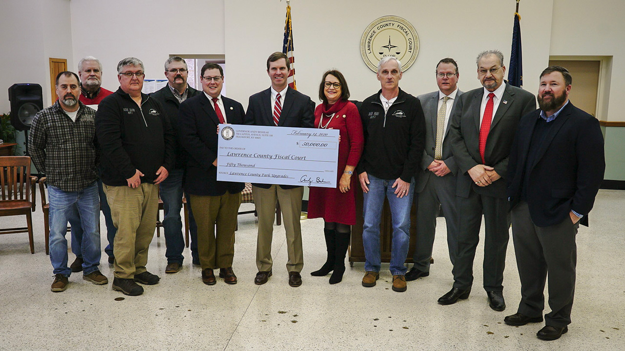 Governor Beshear Awards Nearly $3 Million in Grants to Support Four Eastern Kentucky Communities