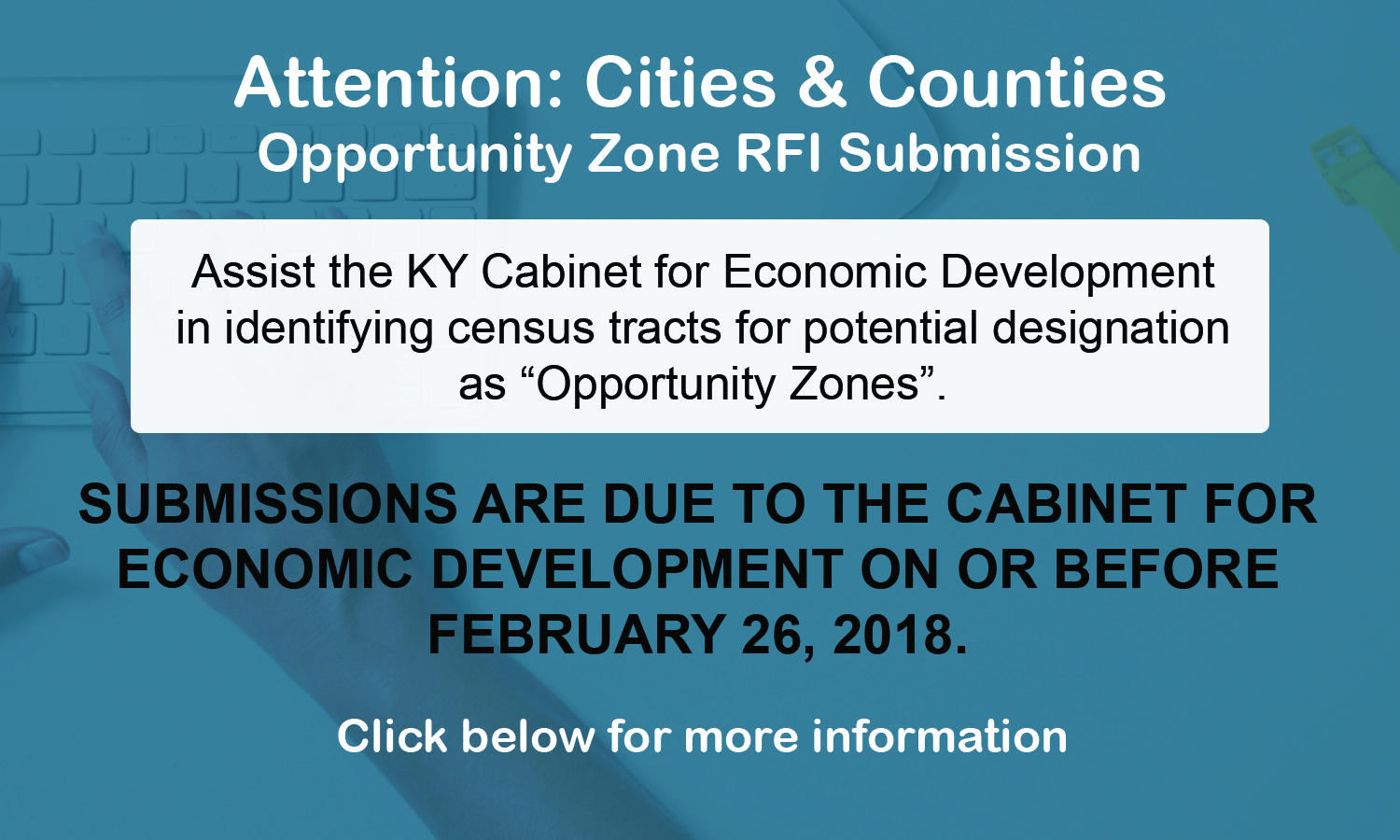 Opportunity Zone RFI Submission